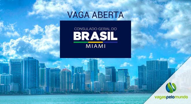 Vaga no Consulado do Brasil em Miami