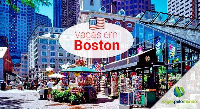 Vagas em Boston