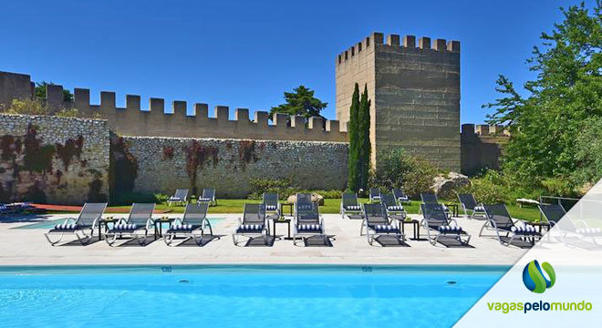 Castelo em Portugal para dormir