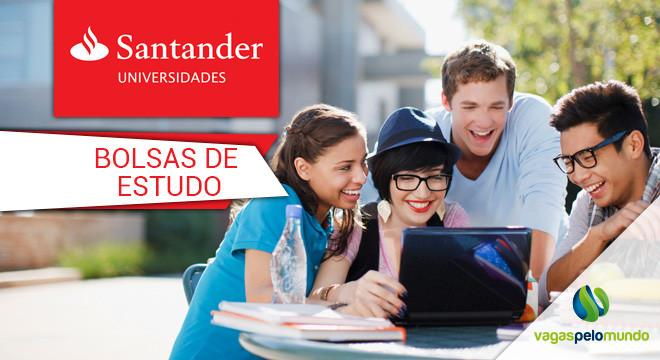Bolsas de estudo Santander