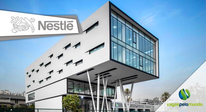 Vagas na Nestlé, multinacional volta a recrutar