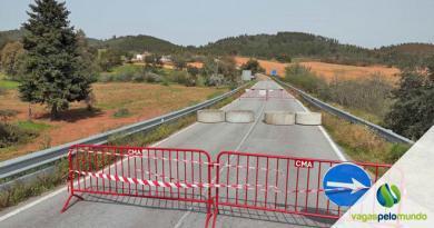 fronteiras da Espanha e Portugal