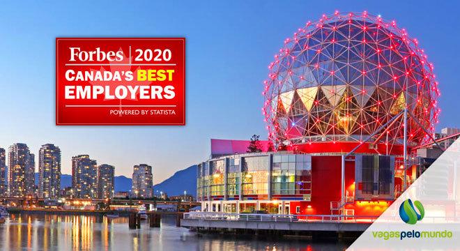 Melhores empresas Canada