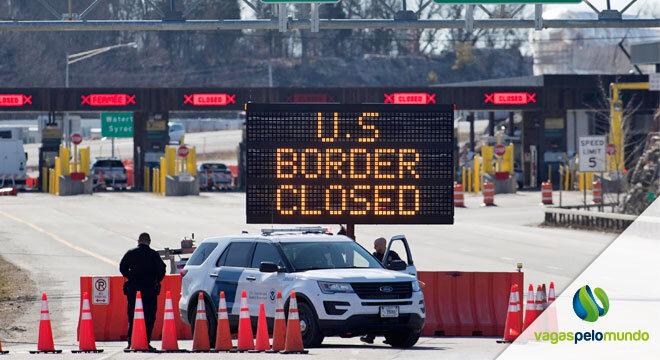Fronteira Canada e Estados Unidos