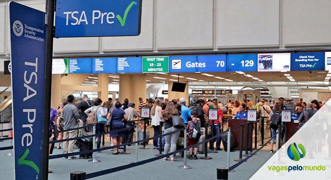 Mais pessoas voando EUA