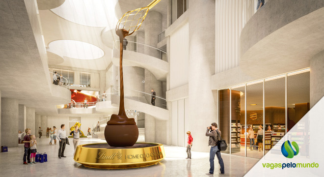 Museu chocolate Lindt