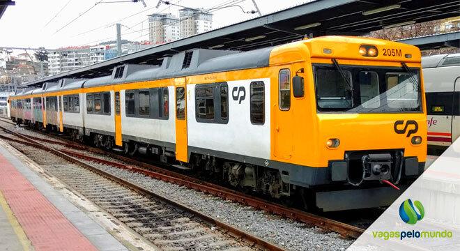 Nova linha de trem em Portugal