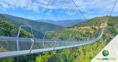 Maior ponte suspensa do mundo