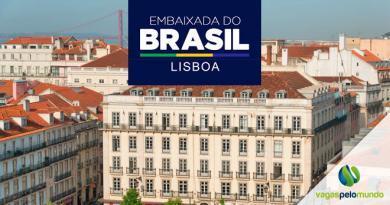 Vaga Embaixada Brasil Lisboa