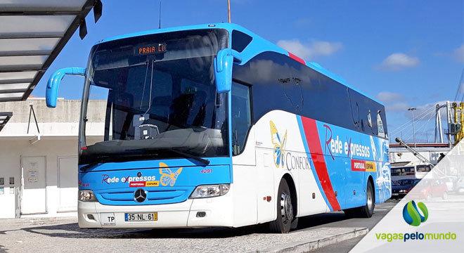 Viagem autocarro Portugal