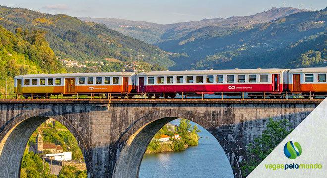 Promoção comboio Portugal
