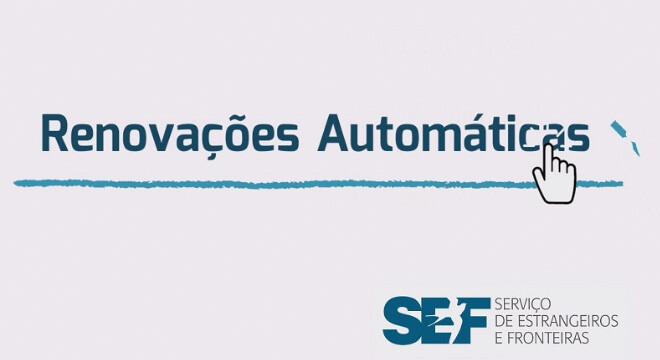 Renovação online SEF Portugal