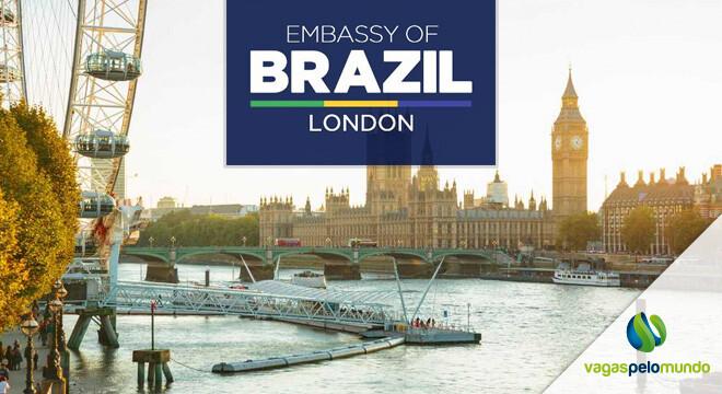 vaga na Embaixada do Brasil em Londres