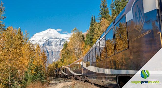 Viagem de trem EUA