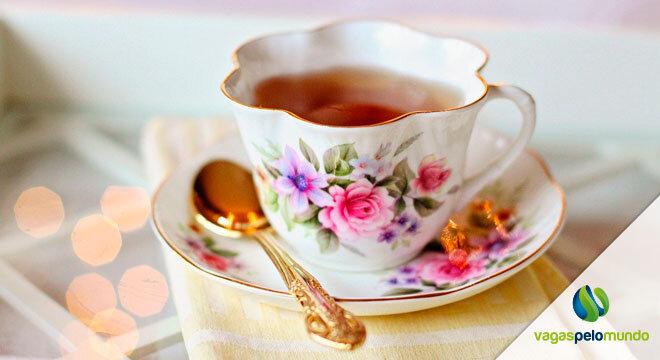 Chá em Portugal