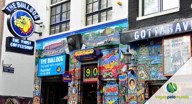 amsterda quer proibir venda de maconha para turistas