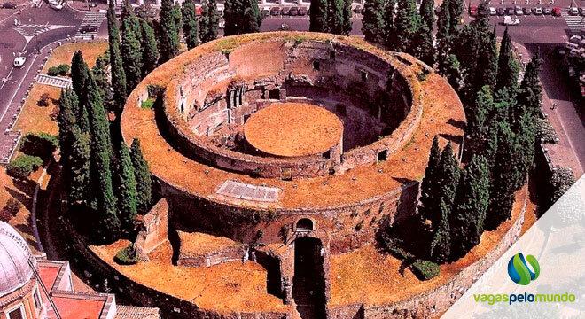 maior tumba circular do mundo
