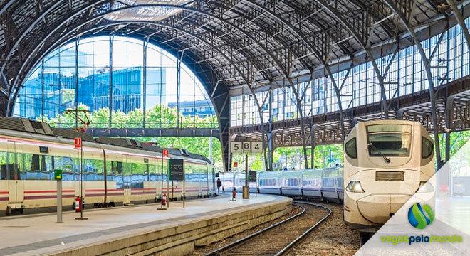 trem de alta velocidade entre Lisboa e Madri