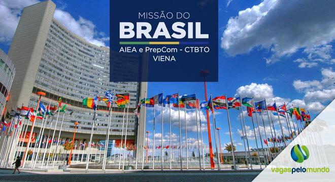 vaga na missao permanente do Brasil em Viena