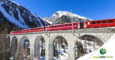 viagens de trem mais bonitas do mundo
