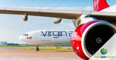 companhia aérea Virgin Atlantic