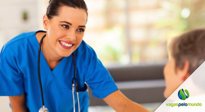 trabalhar como enfermeiro nos Estados Unidos