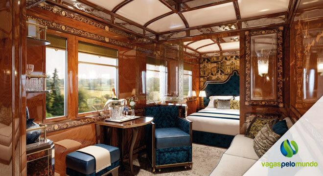 trem de luxo Europa