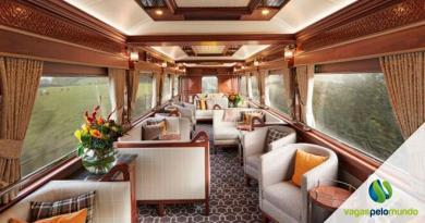 trem de luxo em Amsterdã
