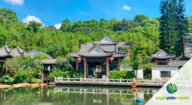 trabalhar com comercio exterior na China