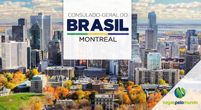 vaga no Consulado geral do Brasil em Montreal