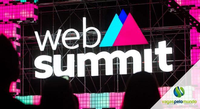 vagas na Web Summit