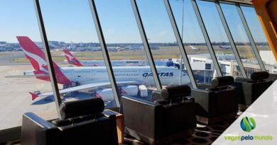 voos internacionais na Australia