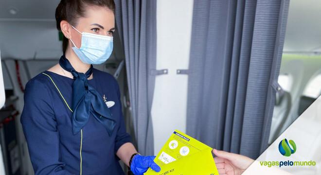 companhias aéreas mais seguras na pandemia