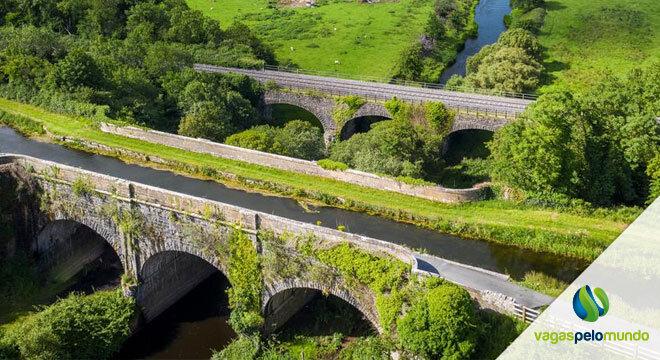 Ciclovia na Irlanda Royal Canal Greenway
