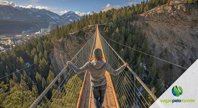 nova ponte suspensa no Canada