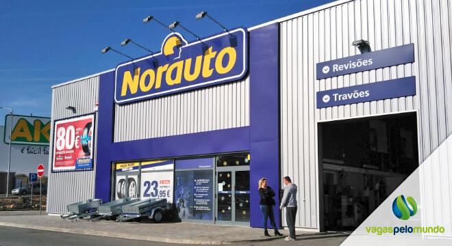 vagas na Norauto em Portugal