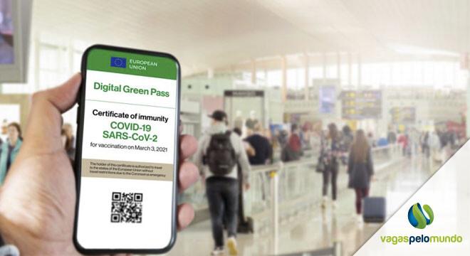 Passaporte COVID em Portugal