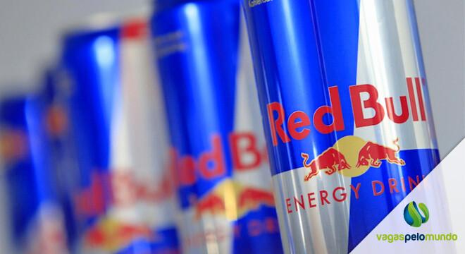 vagas na Red Bull nos EUA