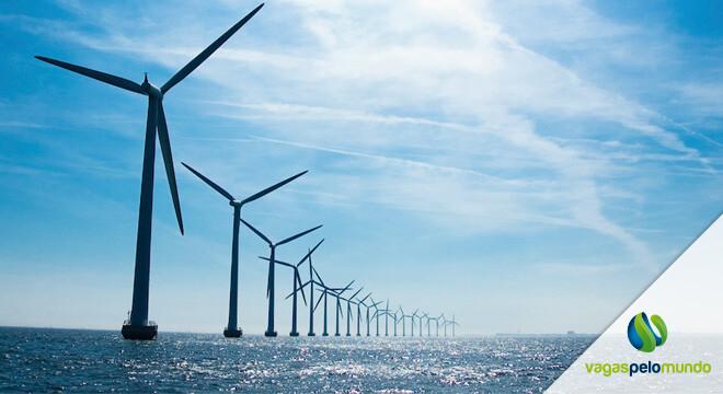 vagas Reino Unido em energia eólica