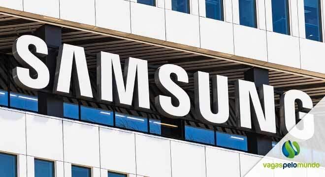 ofertas de emprego na Samsung
