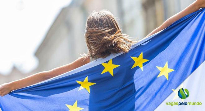 cartão azul da União Europeia