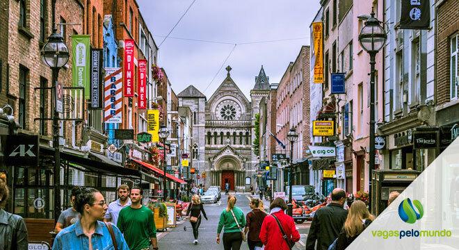 intercâmbio na Irlanda reaberto