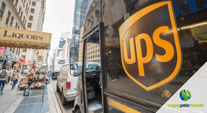 vagas abertas na UPS