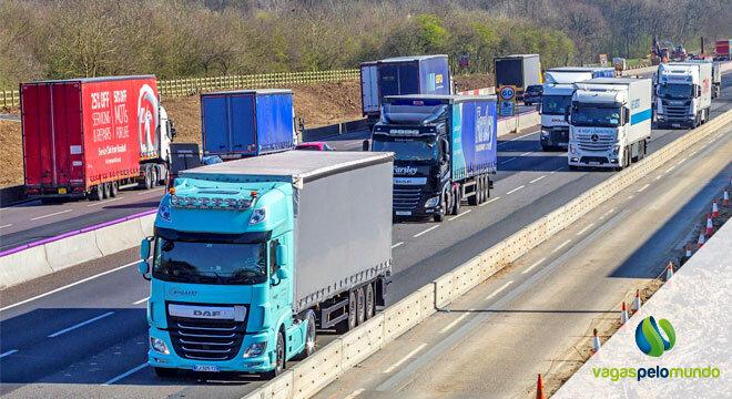 vistos para caminhoneiro no Reino Unido