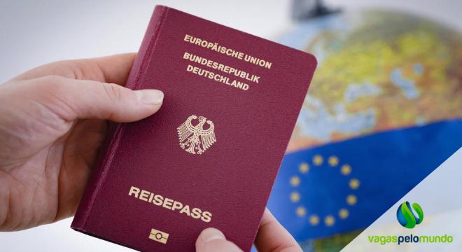 passaportes da União Europeia