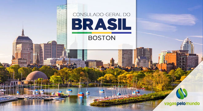 vaga no Consulado do Brasil em Boston
