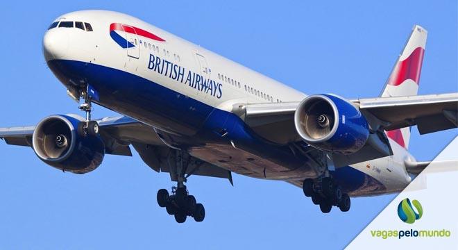 vagas na British Airways