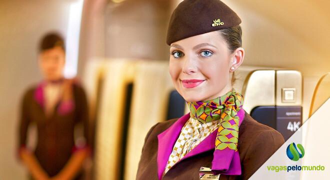 vagas na Etihad Airways